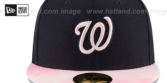 Nationals '2019 MOTHERS DAY' Fitted Hat by New Era