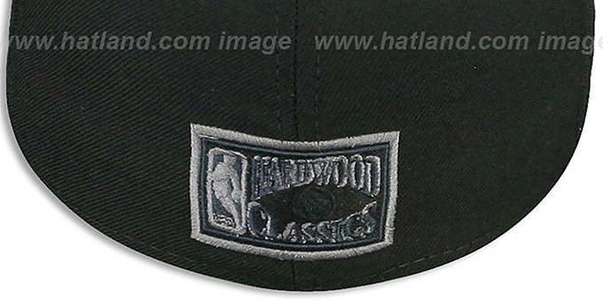 Nets 'HWC FADEOUT-BASIC' Black Fitted Hat by New Era