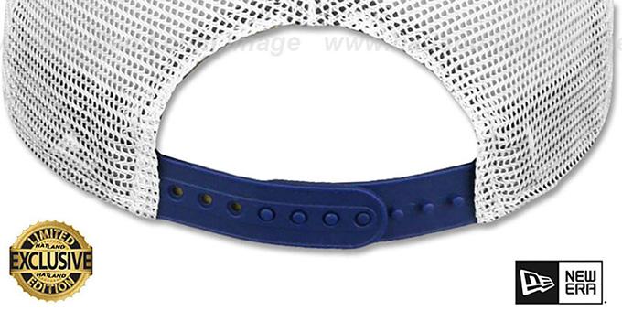 8199d66d522 ... New Era  MESH-BACK BLANK SNAPBACK  Royal Shadow Tech-White Adjustable  Hat ...