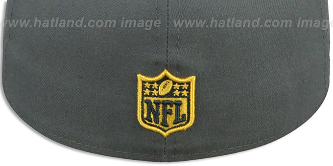 NFL 'SHIELD-LOGO' Charcoal Hat by New Era