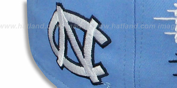 North Carolina 'SAILTIP SNAPBACK' Sky-Navy Hat by New Era