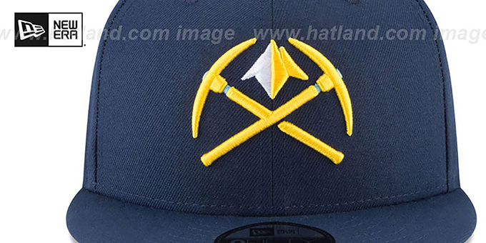 Nuggets 'CITY-SERIES SNAPBACK' Navy Hat by New Era