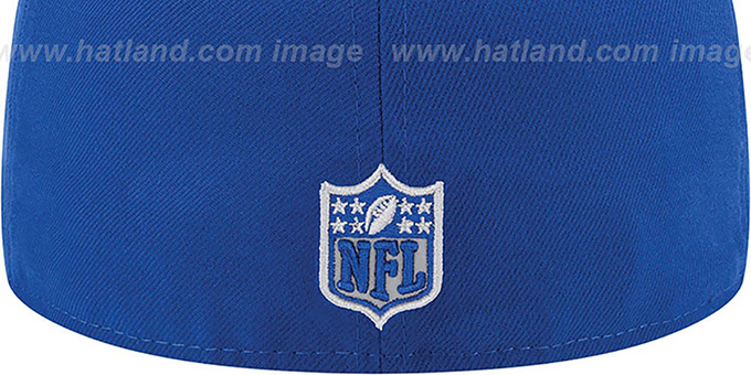 NY Giants '2014 NFL DRAFT' Royal Fitted Hat by New Era