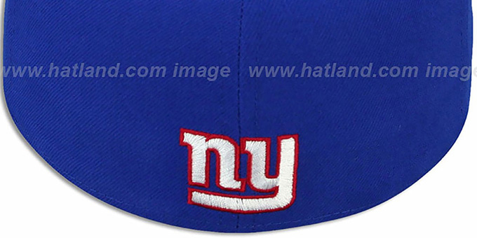 NY Giants 'ILLUSION' Royal Fitted Hat by New Era