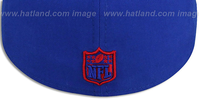 NY Giants NFL 'MIGHTY-XL' Royal Fitted Hat by New Era