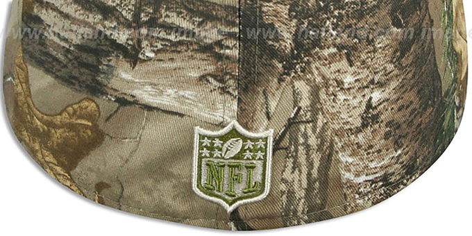 NY Giants 'NFL TEAM-BASIC' Realtree Camo Fitted Hat by New Era