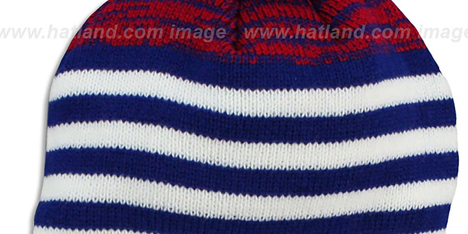 045ae379169 ... NY Giants  SNOWFALL STRIPE  Knit Beanie Hat by New Era