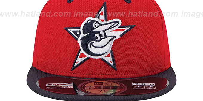 Orioles '2014 JULY 4TH STARS N STRIPES' Hat by New Era
