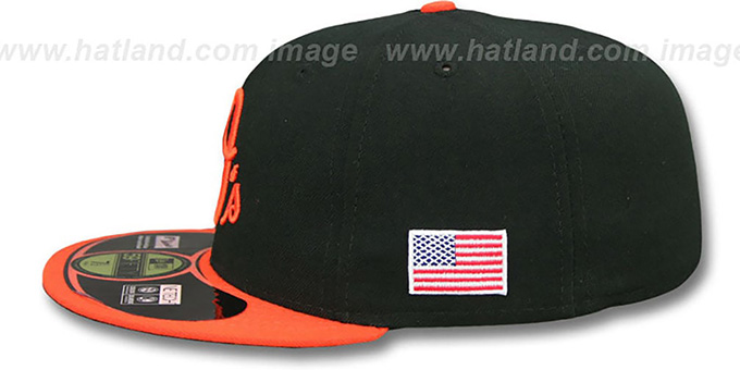 Orioles '2014 STARS-N-STRIPES 911 ALTERNATE' Hat by New Era