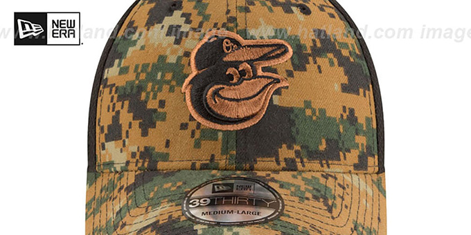 Orioles 2016 MEMORIAL DAY 'STARS N STRIPES FLEX' Hat by New Era