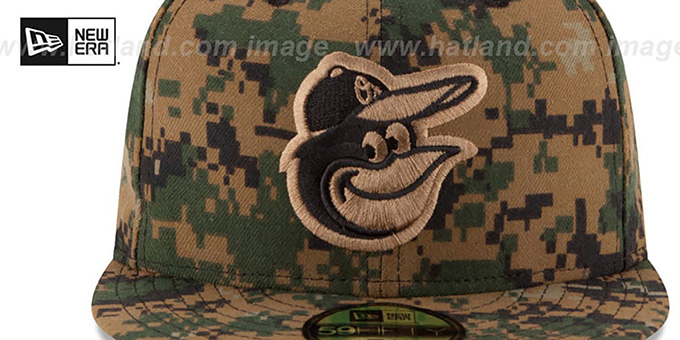 Orioles 2016 MEMORIAL DAY 'STARS N STRIPES' Hat by New Era