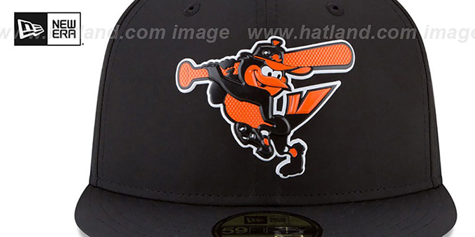 Orioles '2018 PROLIGHT-BP' Black Fitted Hat by New Era