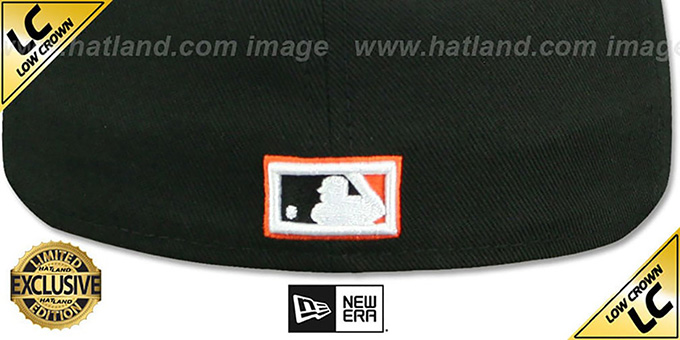 Orioles 'LOW-CROWN 1954-63 COOPERSTOWN' Fitted Hat by New Era