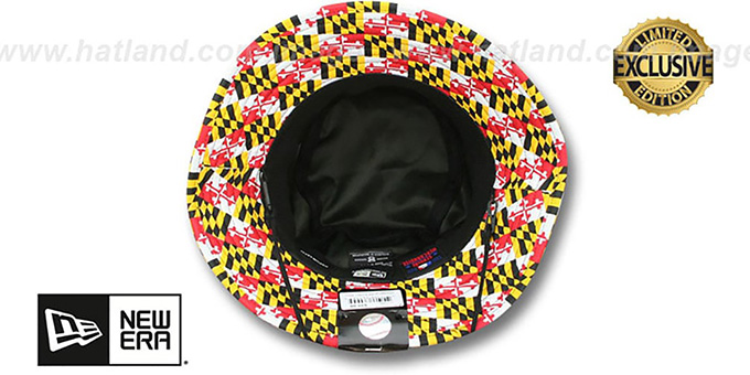 Orioles 'PANEL MARYLAND FLAG BUCKET' Hat by New Era