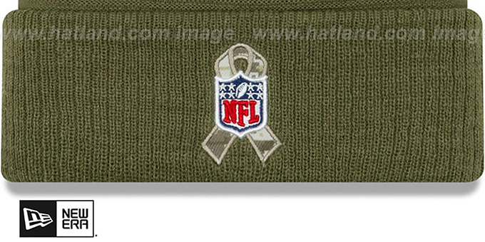 Packers '2019 SALUTE-TO-SERVICE' Knit Beanie Hat by New Era