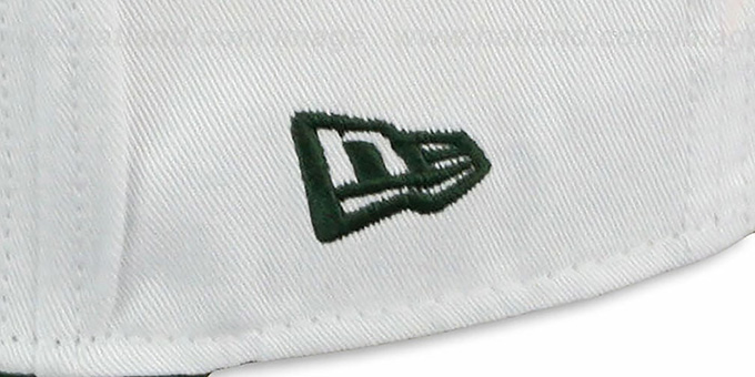 Packers 'BIGSIDE A-FRAME SNAPBACK' White-Green Hat by New Era