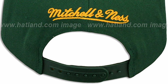 Packers 'NFL-BLOCKER SNAPBACK' Green Hat by Mitchell & Ness