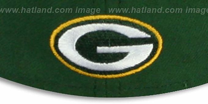 Packers 'NFL FELTN' Green Fitted Hat by New Era