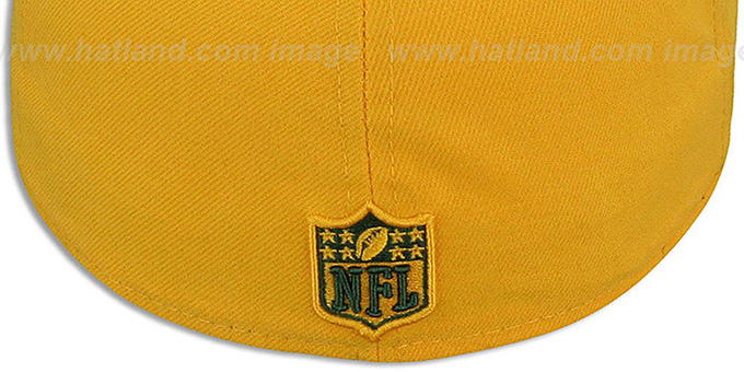 Packers 'NFL-TIGHT' Gold-Green Fitted Hat by New Era