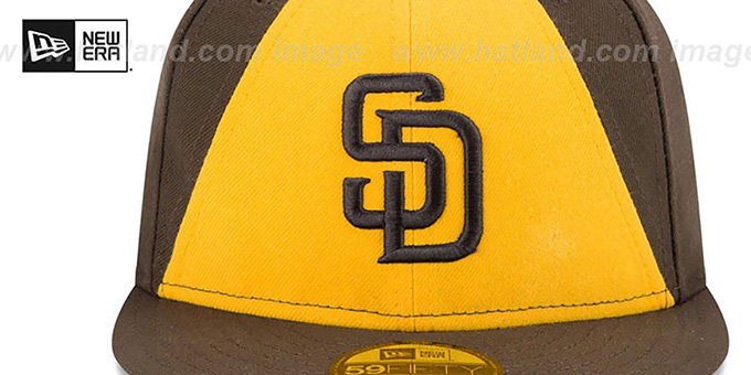 f5d394cbcef San Diego Padres AC-ONFIELD ALTERNATE-2 Hat by New Era