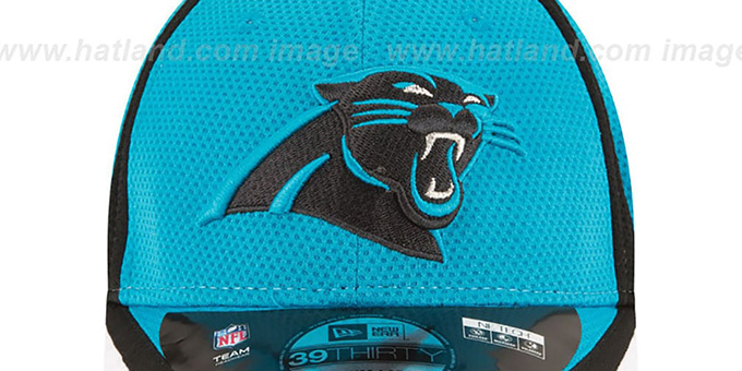 Panthers '2014 NFL TRAINING FLEX' Blue Hat by New Era