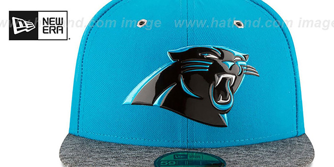 311017c45d1 Carolina Panthers 2016 NFL DRAFT Fitted Hat by New Era