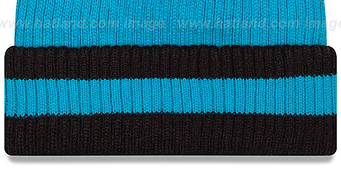 Panthers 'CHILLER FILLER BEANIE' Blue-Black by New Era