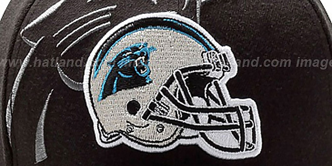 Panthers 'NFL BLACK-CLASSIC FLEX' Hat by New Era