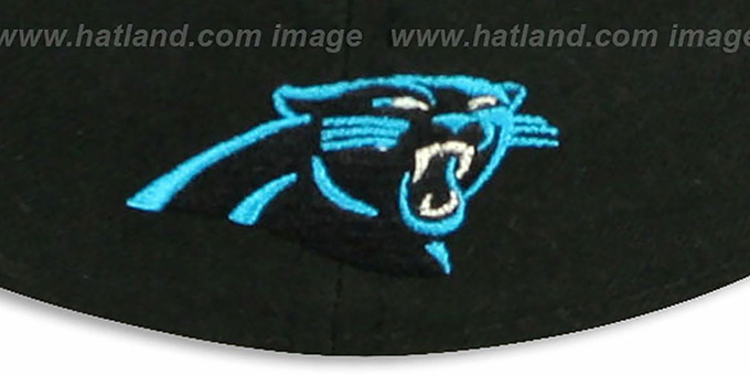 Panthers 'NFL FELTN' Black Fitted Hat by New Era