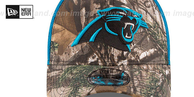 Panthers 'REALTREE NEO MESH-BACK' Flex Hat by New Era