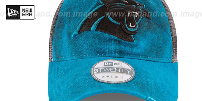 Panthers 'RUSTIC TRUCKER SNAPBACK' Hat by New Era