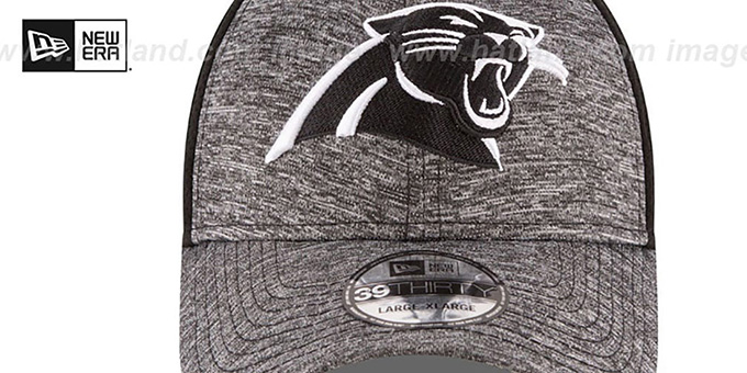 Panthers 'SHADOWED FLEX' Grey-Black Hat by New Era