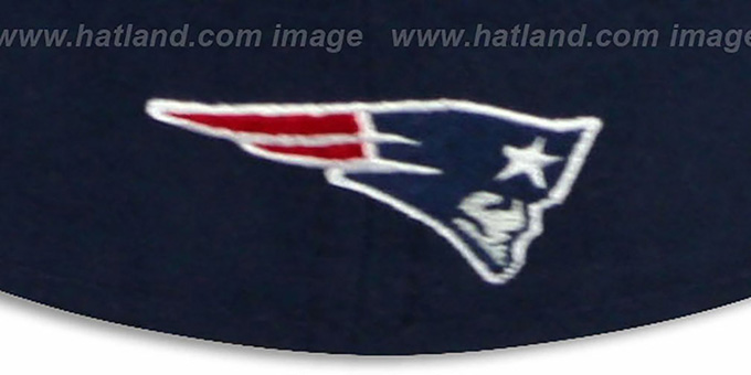 Patriots 'NFL FELTN' Navy Fitted Hat by New Era