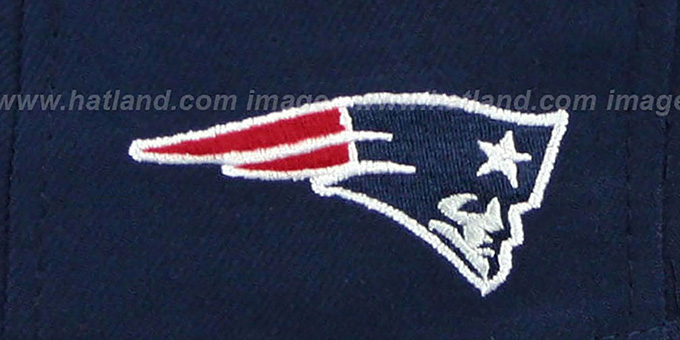Patriots 'NFL ONFIELD DRAFT' Navy Fitted Hat by New Era