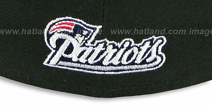 Patriots 'NFL TEAM-BASIC' Black Fitted Hat by New Era