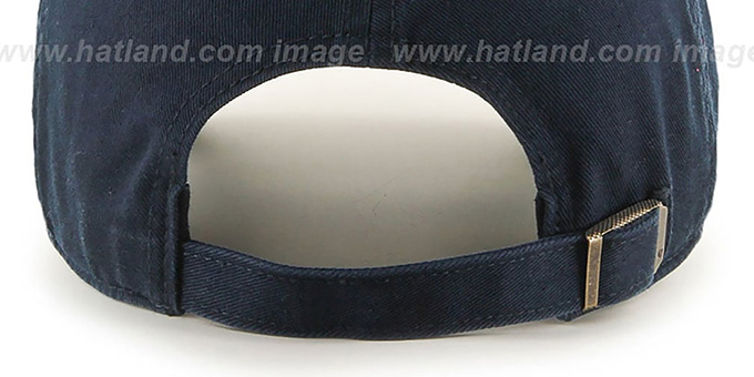 Patriots 'POLO STRAPBACK' Navy Hat by Twins 47 Brand