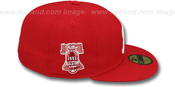 Phillies 1952 'SIDE ALL-STAR-PATCH' Fitted Hat by New Era
