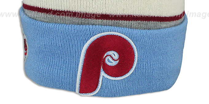 free shipping 34ef4 7f17d ... Phillies COOP  WINTER TRADITION  Knit Beanie Hat by New Era