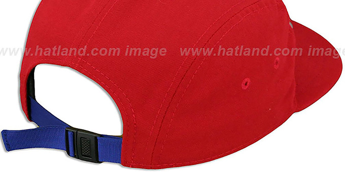 Phillies 'FLAWLESS CAMPER STRAPBACK' Red Hat by New Era