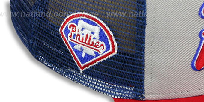 Phillies 'MARK-MESH A-FRAME SNAPBACK' Hat by New Era