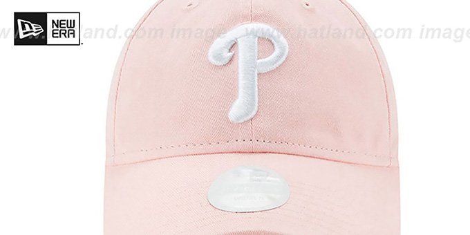 Phillies 'WOMENS PREFERRED PICK STRAPBACK' Light Pink Hat by New Era