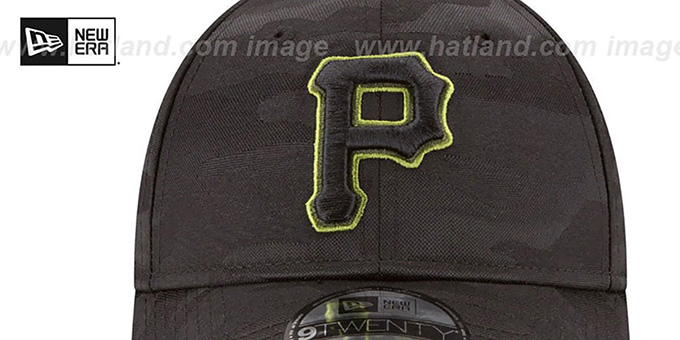 Pirates 2018 MEMORIAL DAY 'STARS N STRIPES STRAPBACK' Hat by New Era