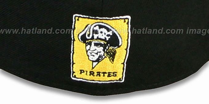 Pirates 'FUNKY MASCOT' Black Fitted Hat by New Era