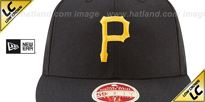 Pittsburgh Pirates LOW-CROWN VINTAGE Fitted Hat by New Era 0a2800d2d1a5