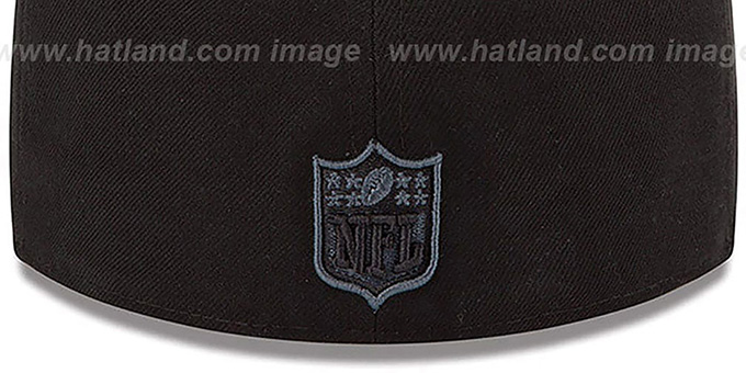 Raiders 'NFL FADEOUT-BASIC' Black Fitted Hat by New Era