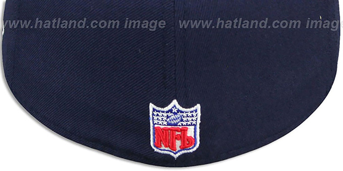 Rams 'COACHES-2' Navy-Gold Fitted Hat by Reebok