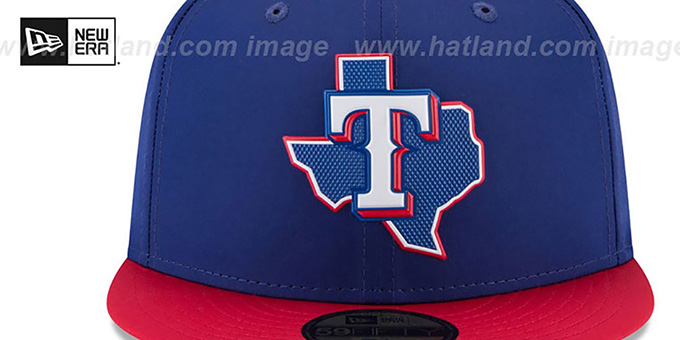 Rangers '2018 PROLIGHT-BP' Royal-Red Fitted Hat by New Era