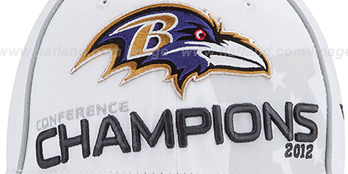 Ravens 2012 AFC 'CONFERENCE CHAMPS' Hat by New Era