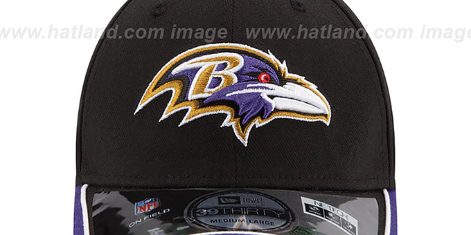 Ravens '2014 NFL STADIUM FLEX' Black Hat by New Era