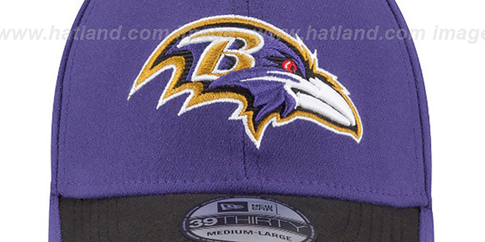 Ravens '2015 NFL STADIUM FLEX' Purple-Black Hat by New Era